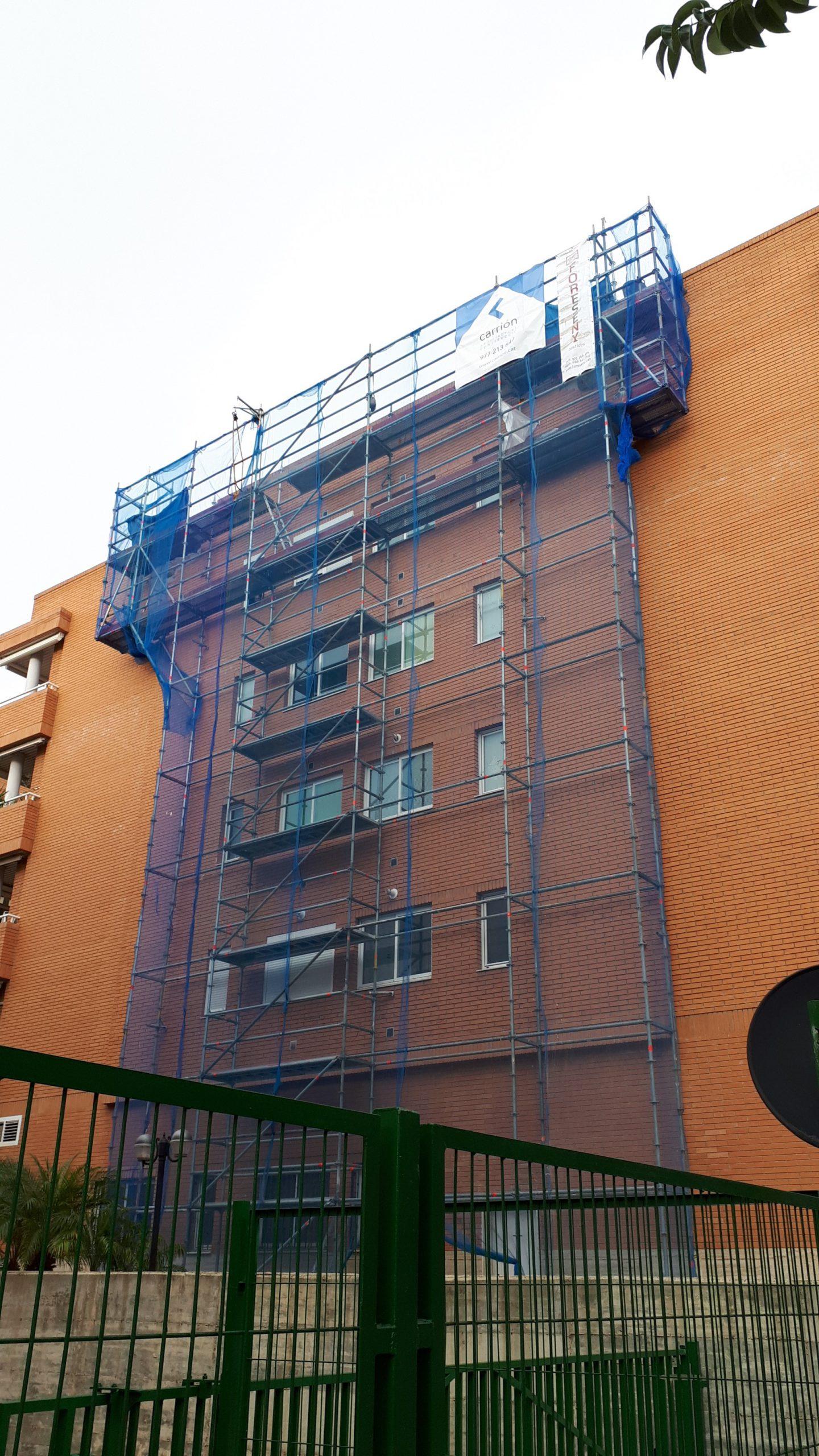 reforma fachada lateral