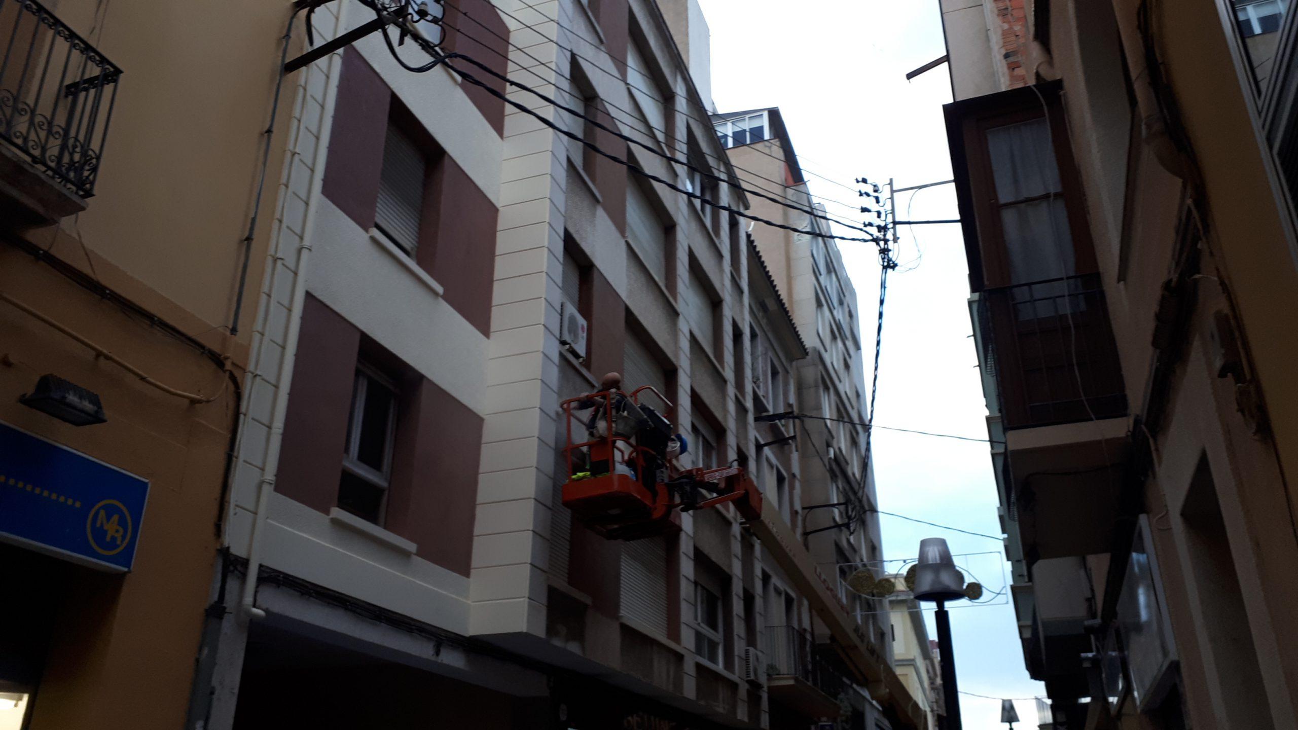pintado fachada