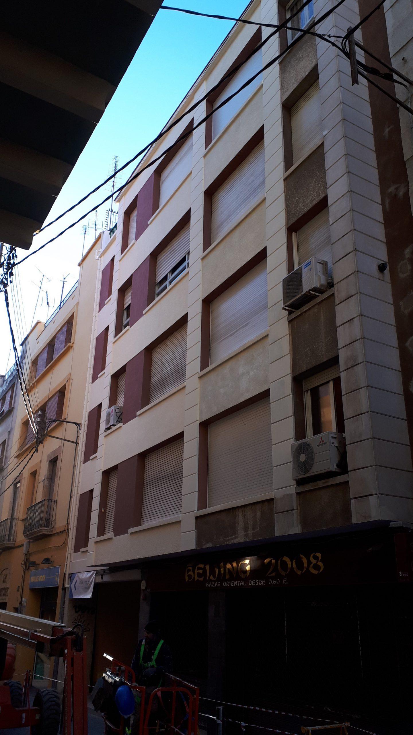 pintat façana