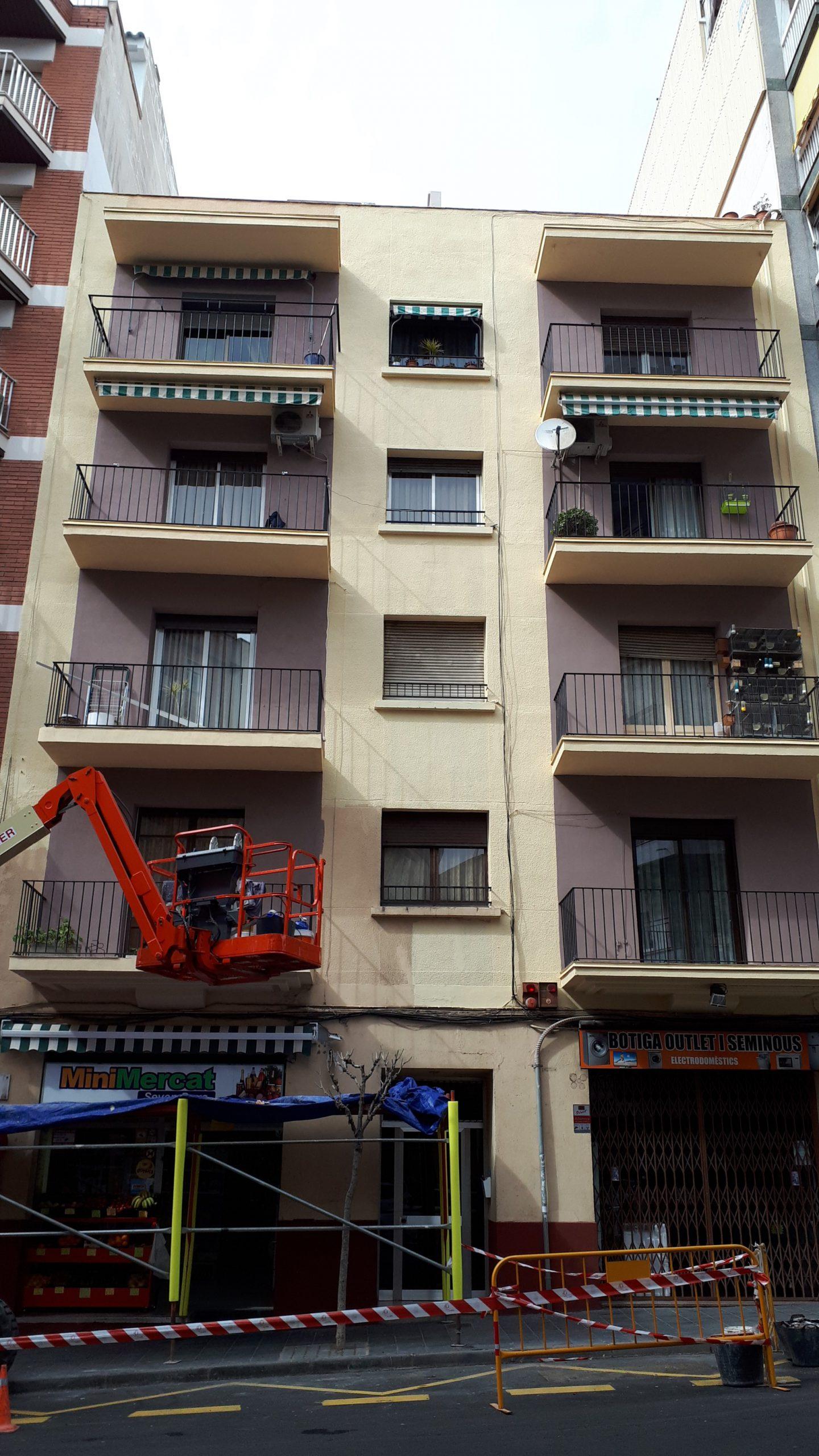 rehabilitació façana tarragona