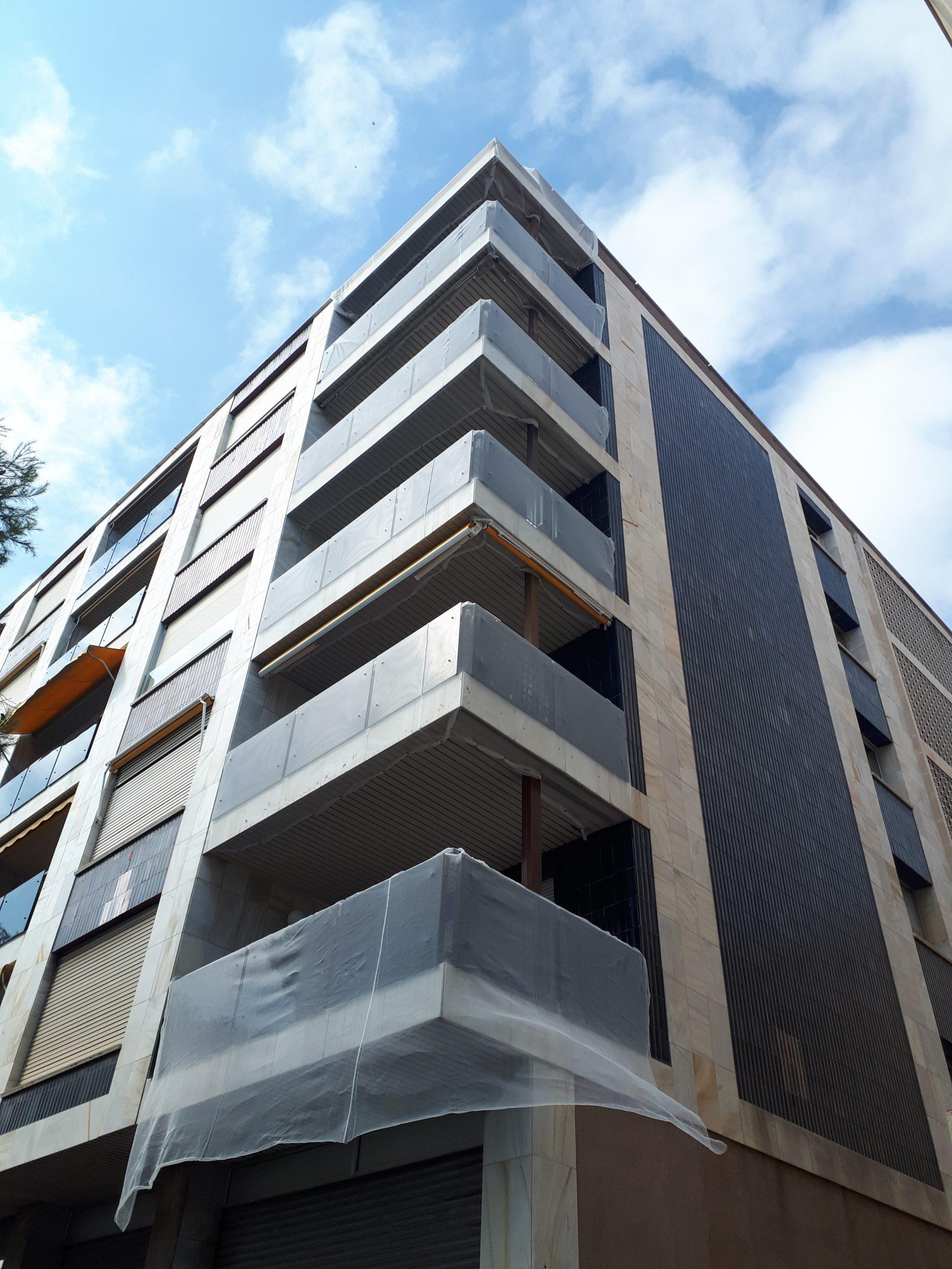 protección balcones