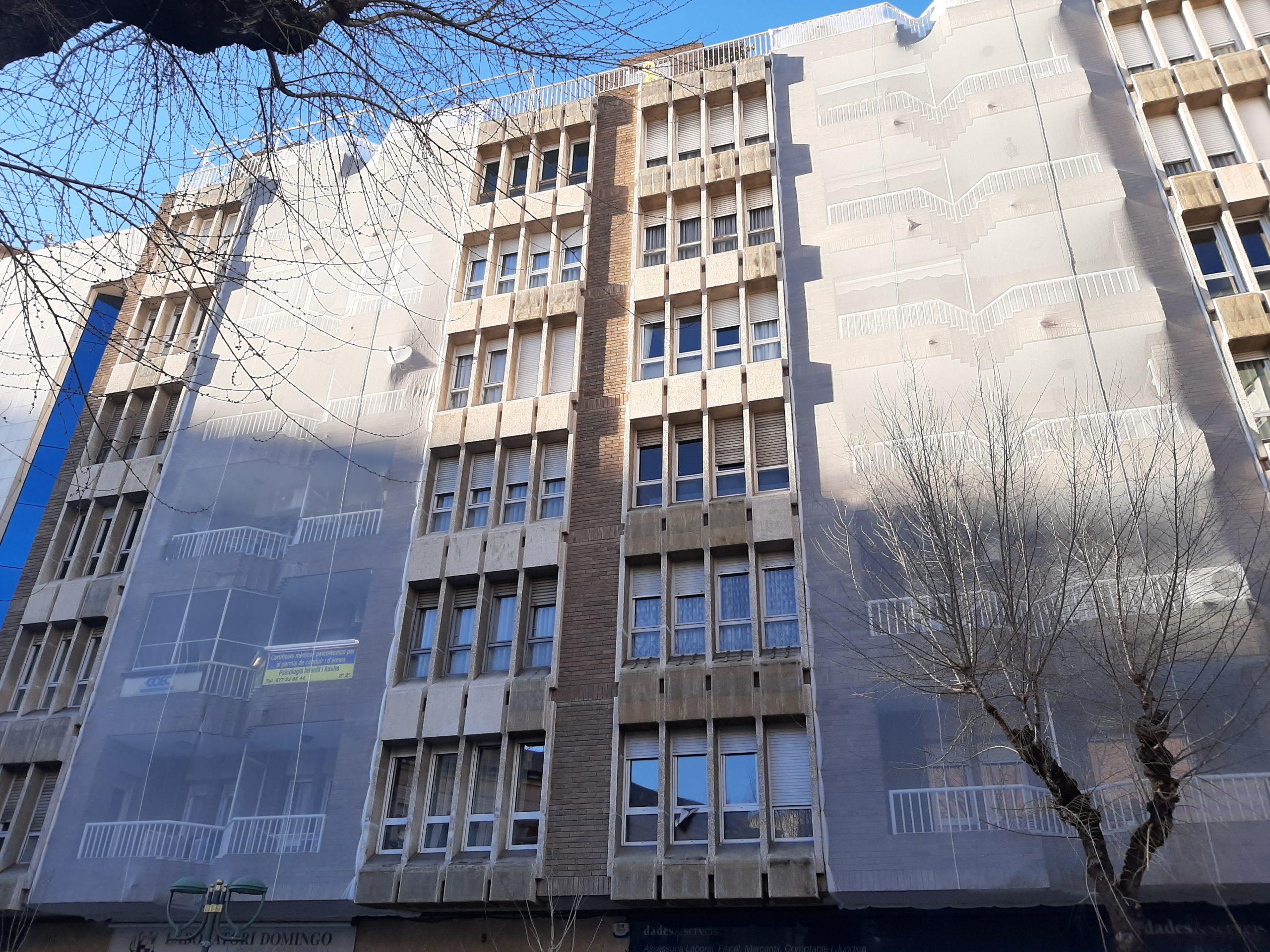 mantenimiento fachada tarragona