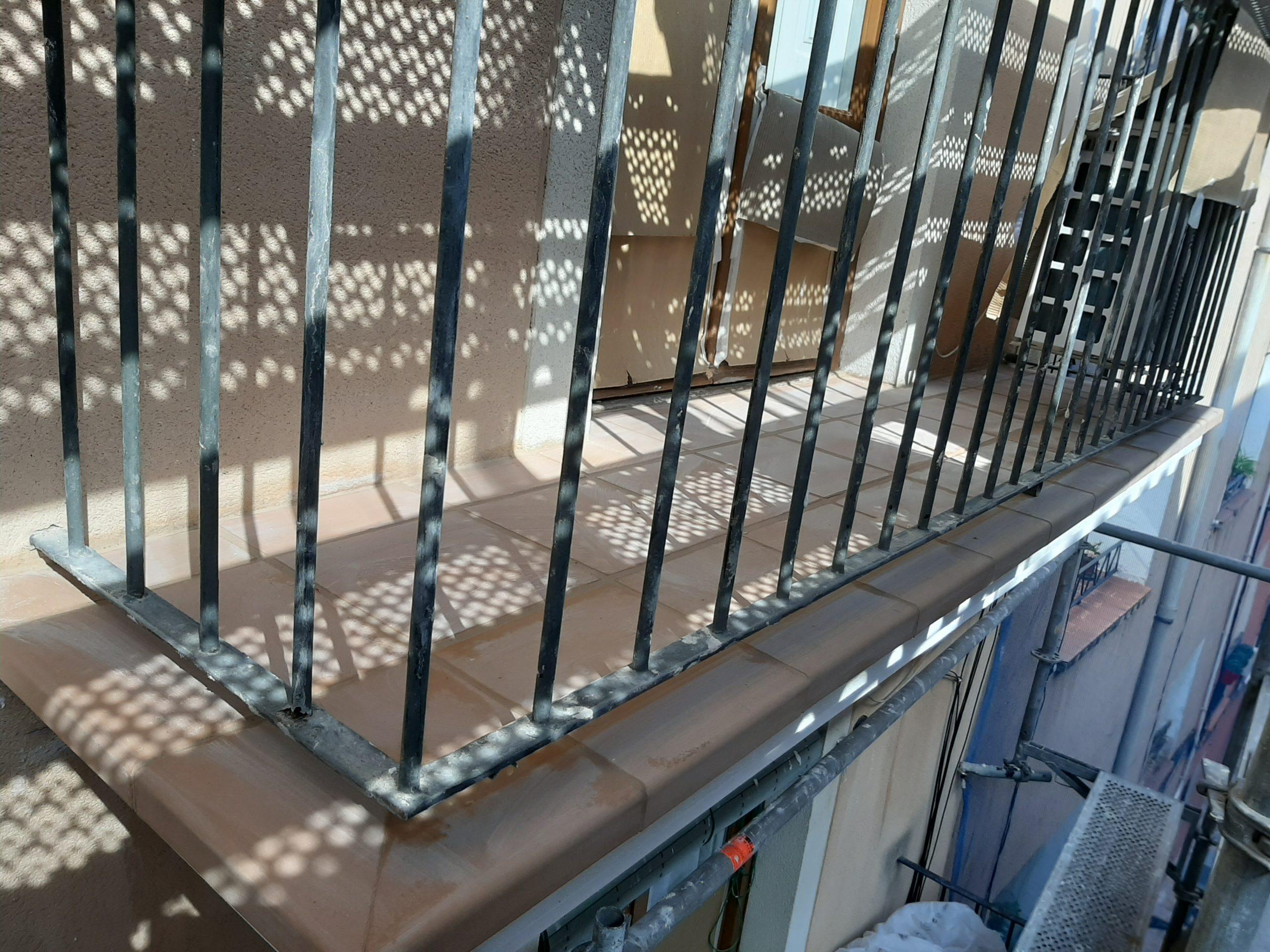 reforma balcón tarragona