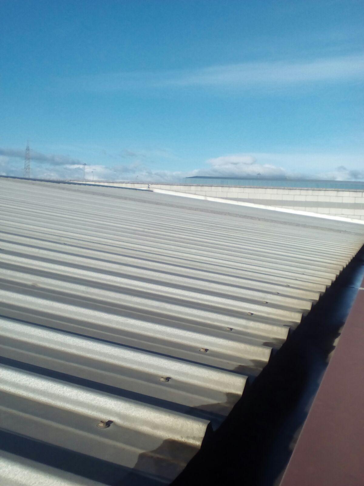 techo nave industrial